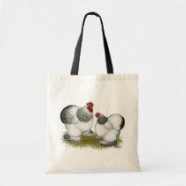 Cochins:  Columbian Bantams Tote Bag
