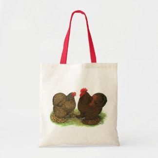 Cochins:  De oro-atado Bolsa Tela Barata