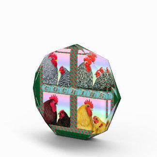 Cochins Four Colors Acrylic Award