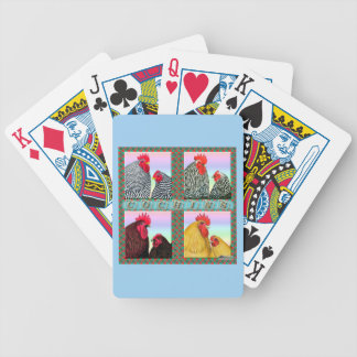 Cochins Four Colors Bicycle Playing Cards