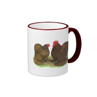 Cochins:  Golden-laced Coffee Mug