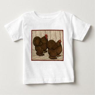 Cochins:  Textured Red Bantams Baby T-Shirt