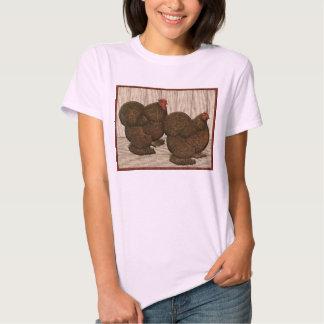 Cochins:  Textured Red Bantams T-Shirt