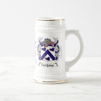 Cochran Family Coat of Arms Stein