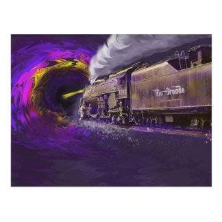 Cocido al vapor al vapor en el Blackhole de la Postales