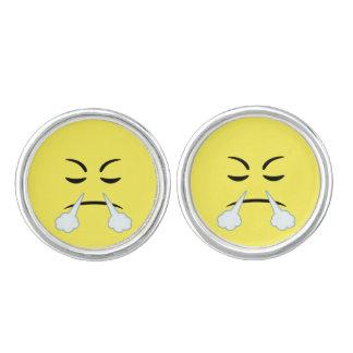 Cocido al vapor de Emoji al vapor Mancuernillas