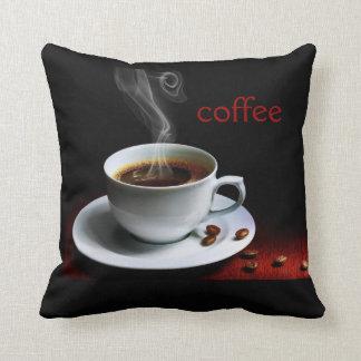 Cocido al vapor de la almohada del café al vapor