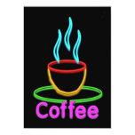 Cocido al vapor de la taza al vapor de café de invitación 12,7 x 17,8 cm