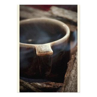Cocido al vapor de la taza al vapor de café comunicado personal