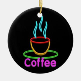 Cocido al vapor de la taza al vapor de Coffe de ne Adorno De Navidad