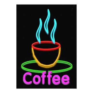 Cocido al vapor de la taza al vapor de Coffe de ne Comunicados Personalizados