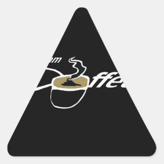 Cocido al vapor del café al vapor pegatina triangular