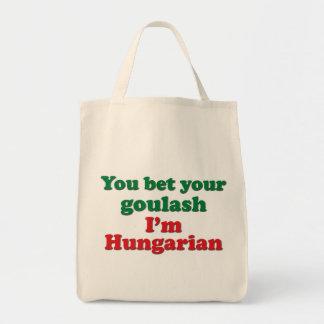 Cocido húngaro húngaro 2 bolsa tela para la compra
