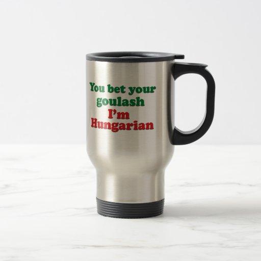 Cocido húngaro húngaro 2 taza de café