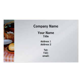 Cociendo una calabaza y un pastel de calabaza - fi plantillas de tarjeta de negocio