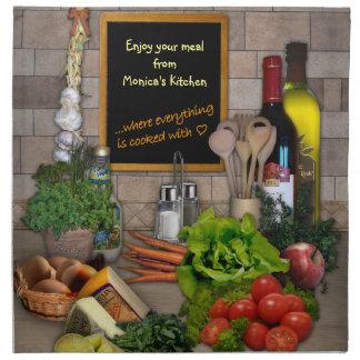 Cocina (adaptable) servilletas