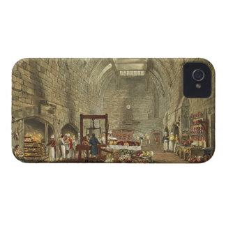 Cocina antigua, castillo de Windsor, grabado por Case-Mate iPhone 4 Protectores