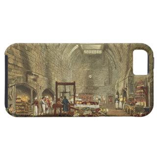 Cocina antigua, castillo de Windsor, grabado por iPhone 5 Fundas