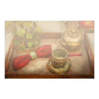 Cocina - ceremonia de té formal  papeleria de diseño