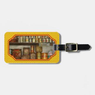 Cocina - comida - acompañamientos etiquetas maleta