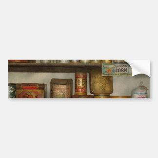 Cocina - comida - acompañamientos pegatina para auto