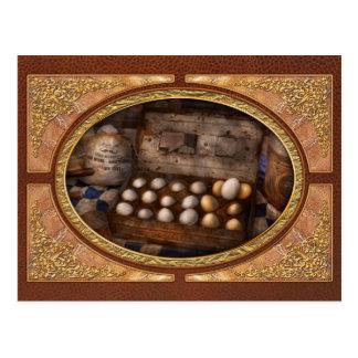 Cocina - comida - huevos - 18 huevos postal
