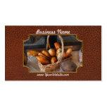Cocina - comida - pan - pan fresco tarjeta de visita