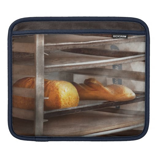Cocina - comida - pan - pan recientemente cocido mangas de iPad