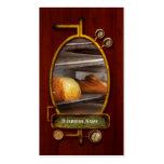 Cocina - comida - pan - pan recientemente cocido tarjetas de visita