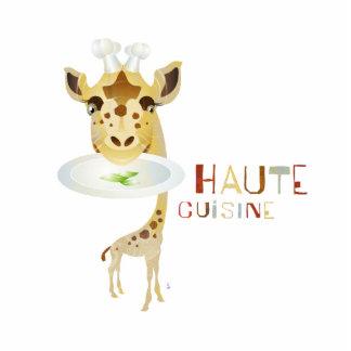 Cocina de Haute - ejemplo de ZooDo Fotoescultura Vertical