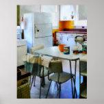Cocina de los años 50 posters
