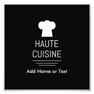 Cocina del gastrónomo de la cocina de Haute del Fotografía