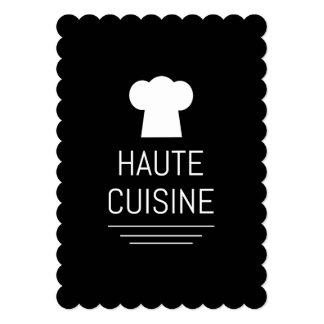 """Cocina del gastrónomo de la cocina de Haute del Invitación 5"""" X 7"""""""