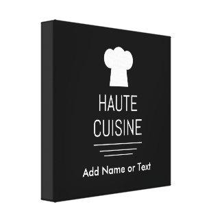 Cocina del gastrónomo de la cocina de Haute del Lona Estirada Galerias