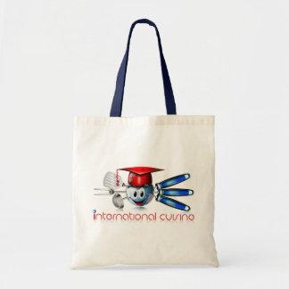 Cocina del international del globo bolsa