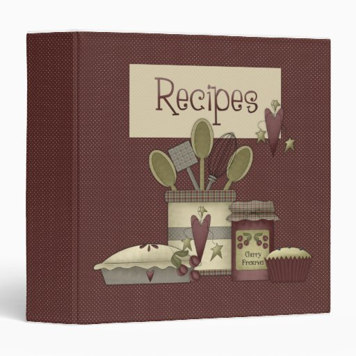 Cocina del país · Carpeta de la receta