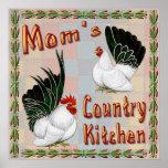 Cocina del país de la mamá posters