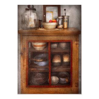 Cocina - el gabinete de enfriamiento invitación