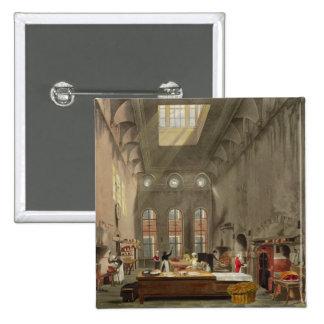 Cocina, el palacio de San Jaime, grabado por Guill Pin Cuadrada 5 Cm