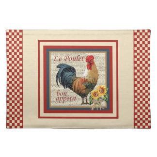 Cocina-Gallo del país Manteles