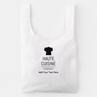 Cocina gastrónoma francesa de Haute Bolsa Reutilizable