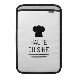Cocina gastrónoma francesa Foodie de Haute Fundas Macbook Air