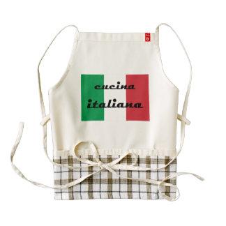 Cocina italiana delantal zazzle HEART