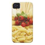 Cocina italiana. Pastas y tomates iPhone 4 Cárcasas