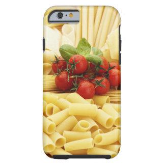 Cocina italiana. Pastas y tomates Funda Para iPhone 6 Tough