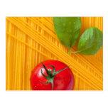 Cocina italiana tarjeta postal