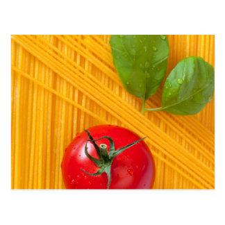 Cocina italiana tarjetas postales