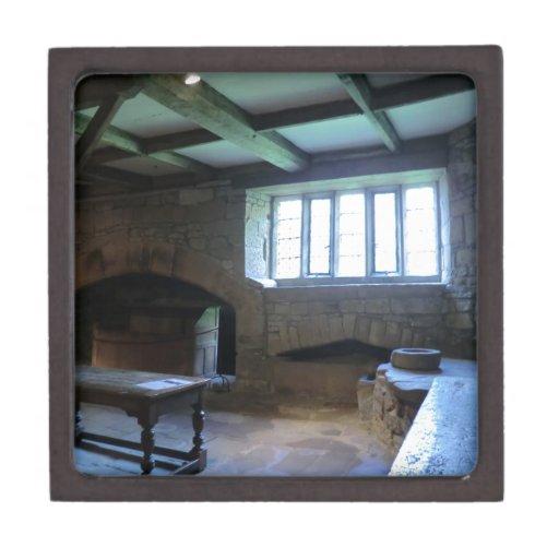 Cocina medieval de Haddon Pasillo Caja De Recuerdo De Calidad