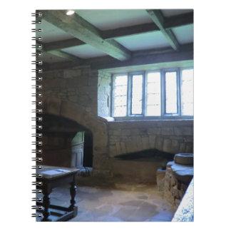 Cocina medieval de Haddon Pasillo Libreta