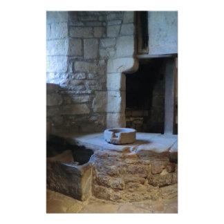 Cocina medieval de Haddon Pasillo Papelería De Diseño